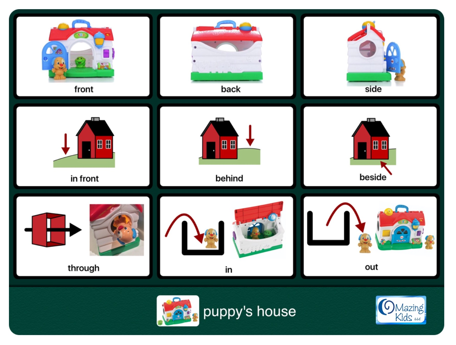 Pre K Worksheets Prepositions