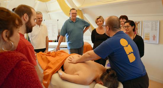 Massage cursus gevorderden