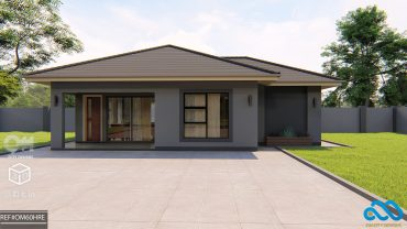2 Bedroomed Cottage design