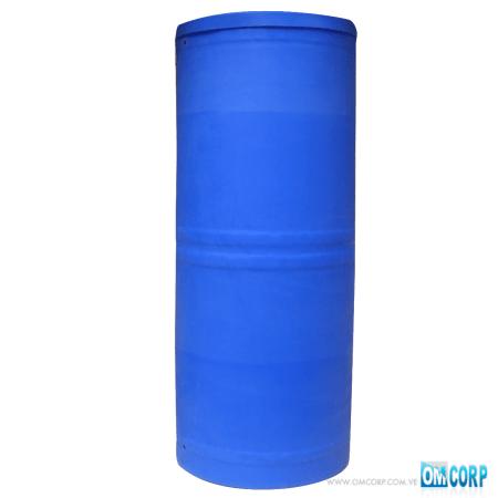 TANQUE AZUL CILINDRICO PLASTICO HDPE UV 1000 LTS MIA80465P