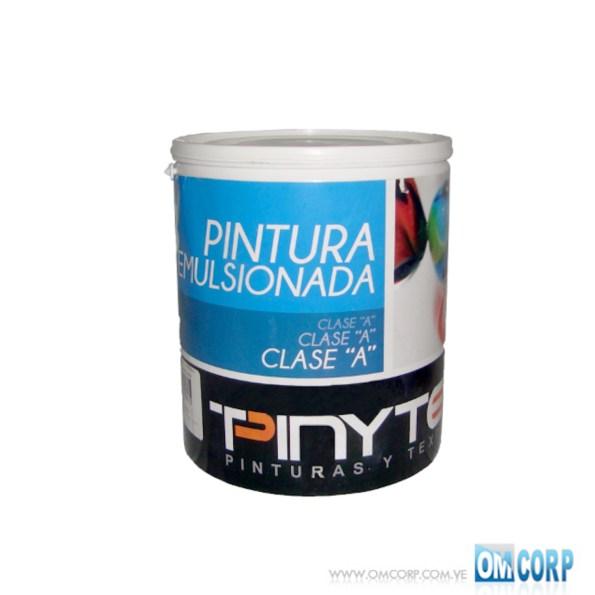 Pintura Caucho Blanco Mate Clase A Galon Pinytex