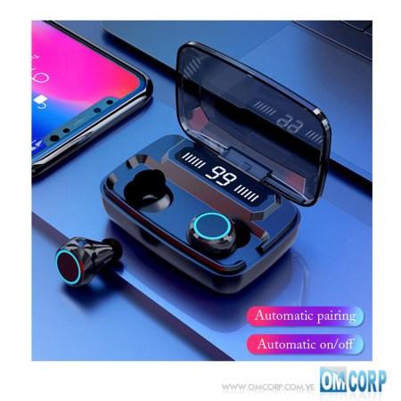Audifonos Inalambricos Bluetooth Táctil Power Bank BT 5.0 Newest