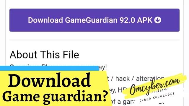 Download game guardian
