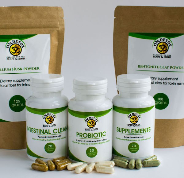 Complete supplement kit for weight loss and body detox