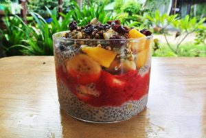 Chia Bomb breakfast bowl