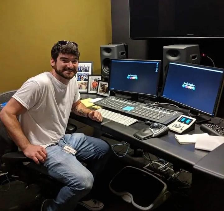 AJ Shapiro, Emmy Award-Winning Foley Engineer.