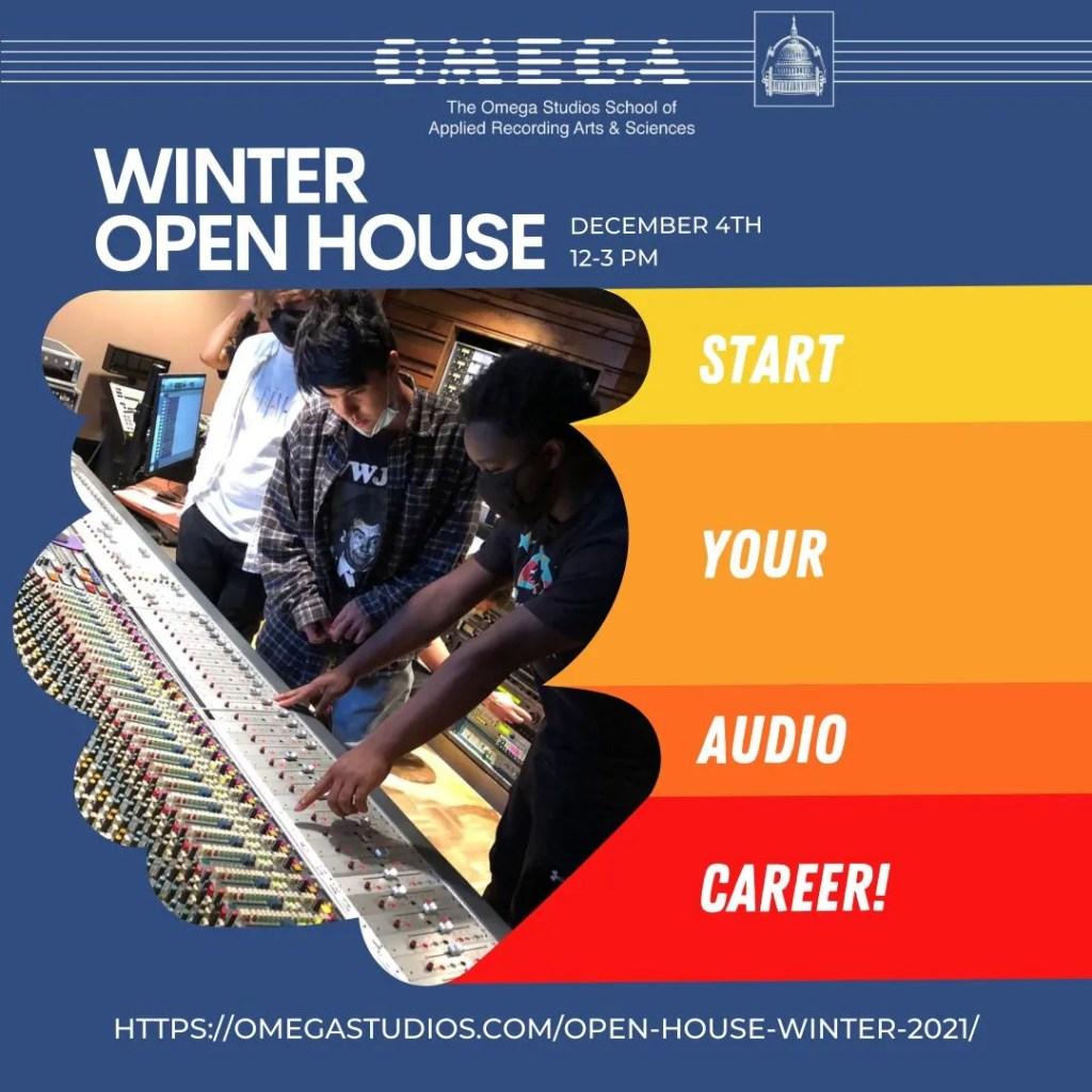 Omega Studios 2021 Winter Open House