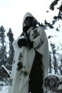 East German Snow Poncho