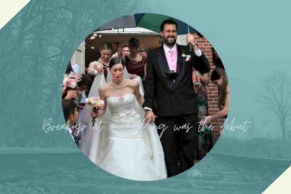 Breakup at a Wedding, Directed by Victor Quinaz & played by Alison Fyhrie