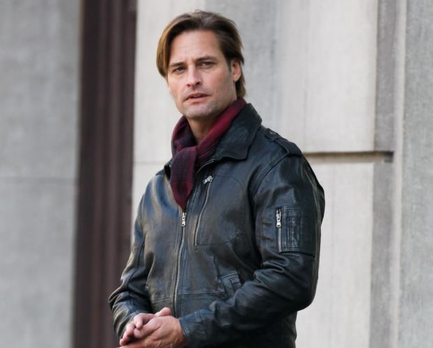 josh holloway no set em praga