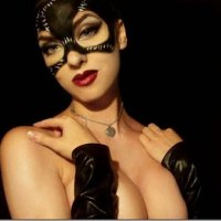 "Cosplay: Mulher-Gato ""hot"""