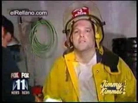 Vídeo Engraçado - Bombeiro Intoxicado Em Incêndio