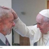 Papa Francisco recebe Lula no Vaticano e causa revolta nos brasileiros
