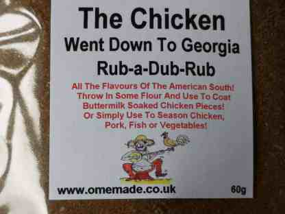The Chicken Went Down To Georgia Rub-a-Dub-Rub from 'Ome Made