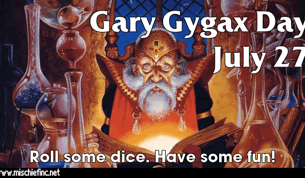 Gary Gygax Day Graphic