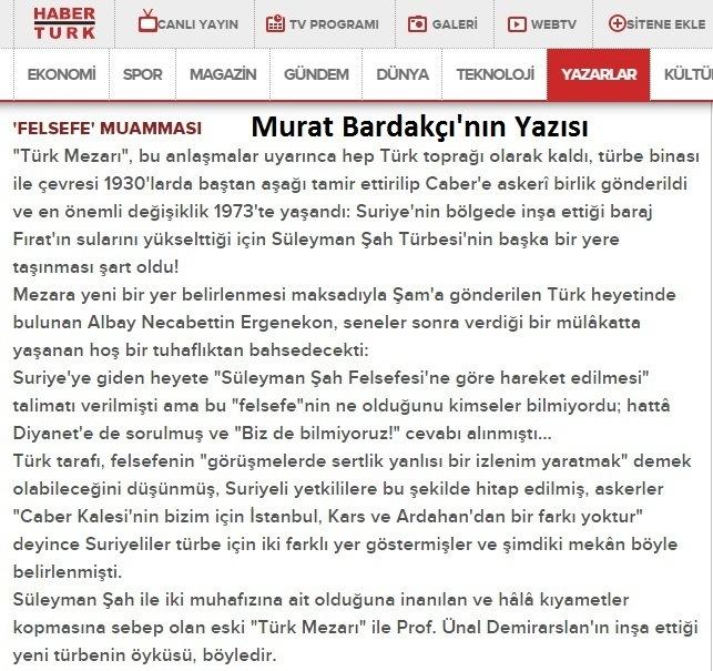 Bardakci, Suleyman Sah Felsefesi