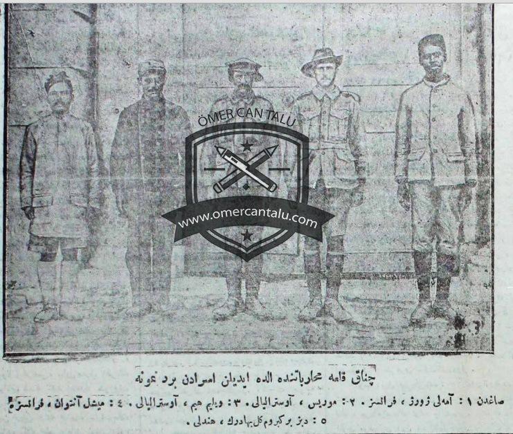 Canakkale-esirleri
