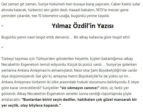 Ozdil, Suleyman Sah Turbesi