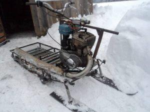 Как сделать снегоход своими руками из мотоцикла - О металле