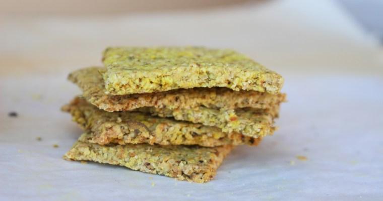 Crackers de Aveia (receita da Joana Limão)