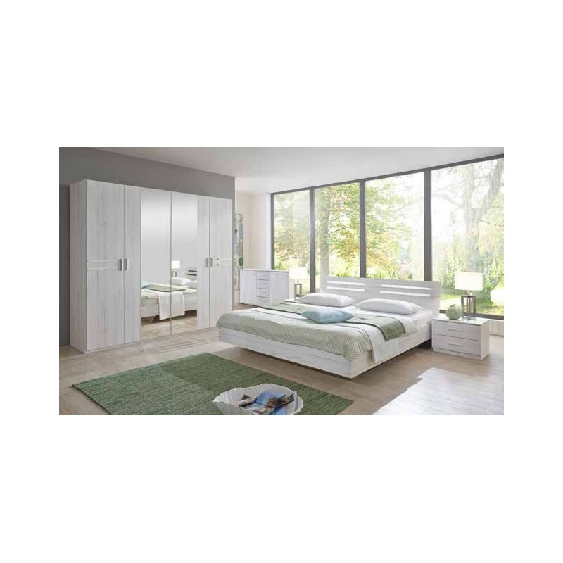 chambre a coucher adulte pack suzana
