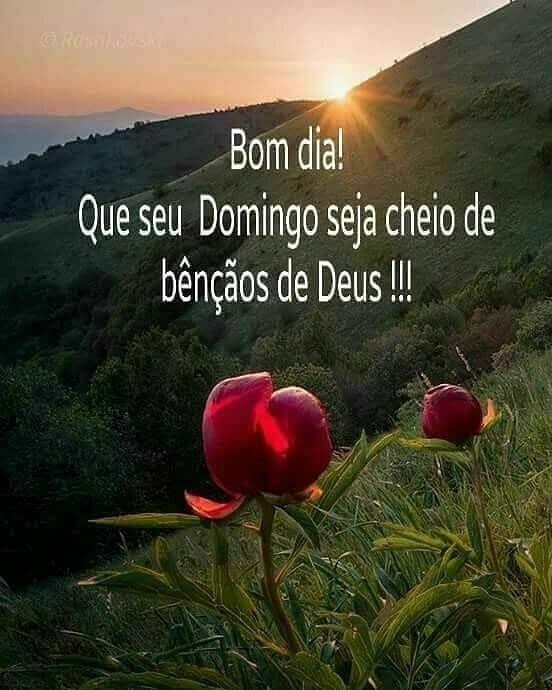 Bom dia maravilhoso com Deus.