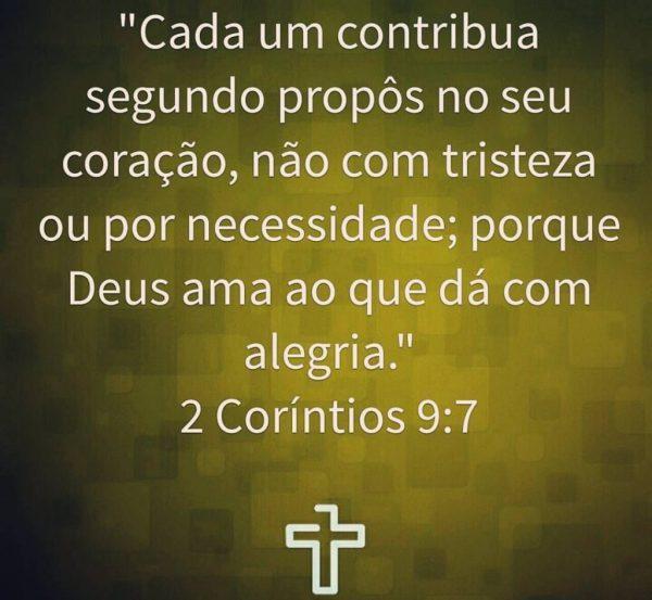Contribua para a obra de Deus