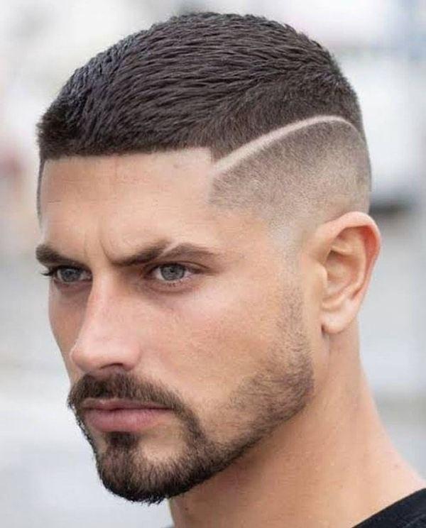 modelo de corte masculino