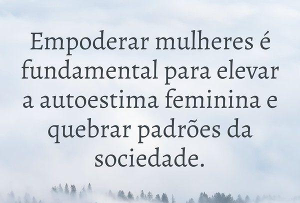 autoestima feminina padrões da sociedade.