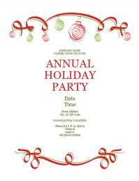Formal christmas invitation templates merry christmas and happy once again stopboris Gallery