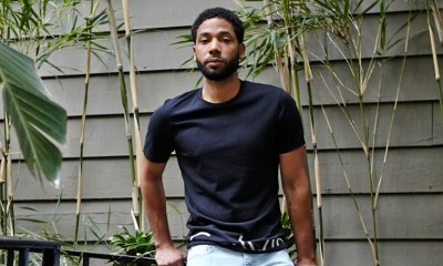 'Empire's Jussie Smollett shares powerful Pride message