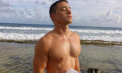 Oh look, Colton Haynes is naked and covered in paint in new Instagram photos