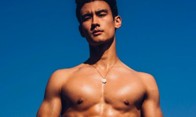 'Grey's Anatomy's Alex Landi gets wet in new pool photo shoot