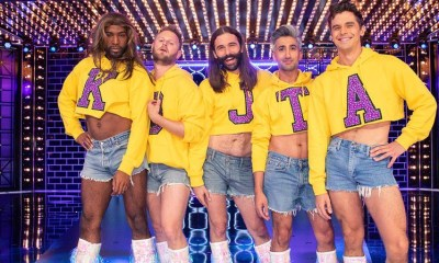 'Queer Eye' Fab Five perform Britney, Beyoncé, and Gaga on 'Lip Sync Battle'