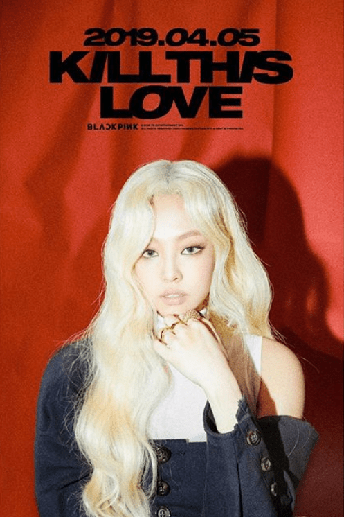 BLACKPINK unveils second 'Kill This Love' teaser poster - this time featuring Jennie