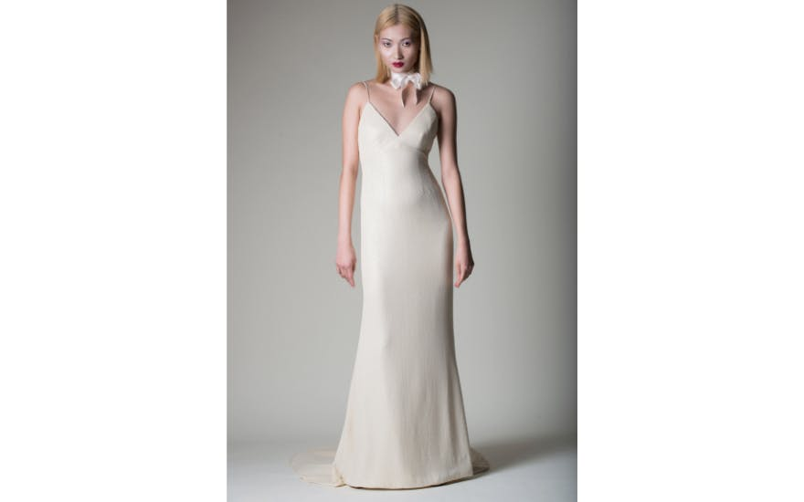 Simply Ivory Wedding Dress by Alan Hannah
