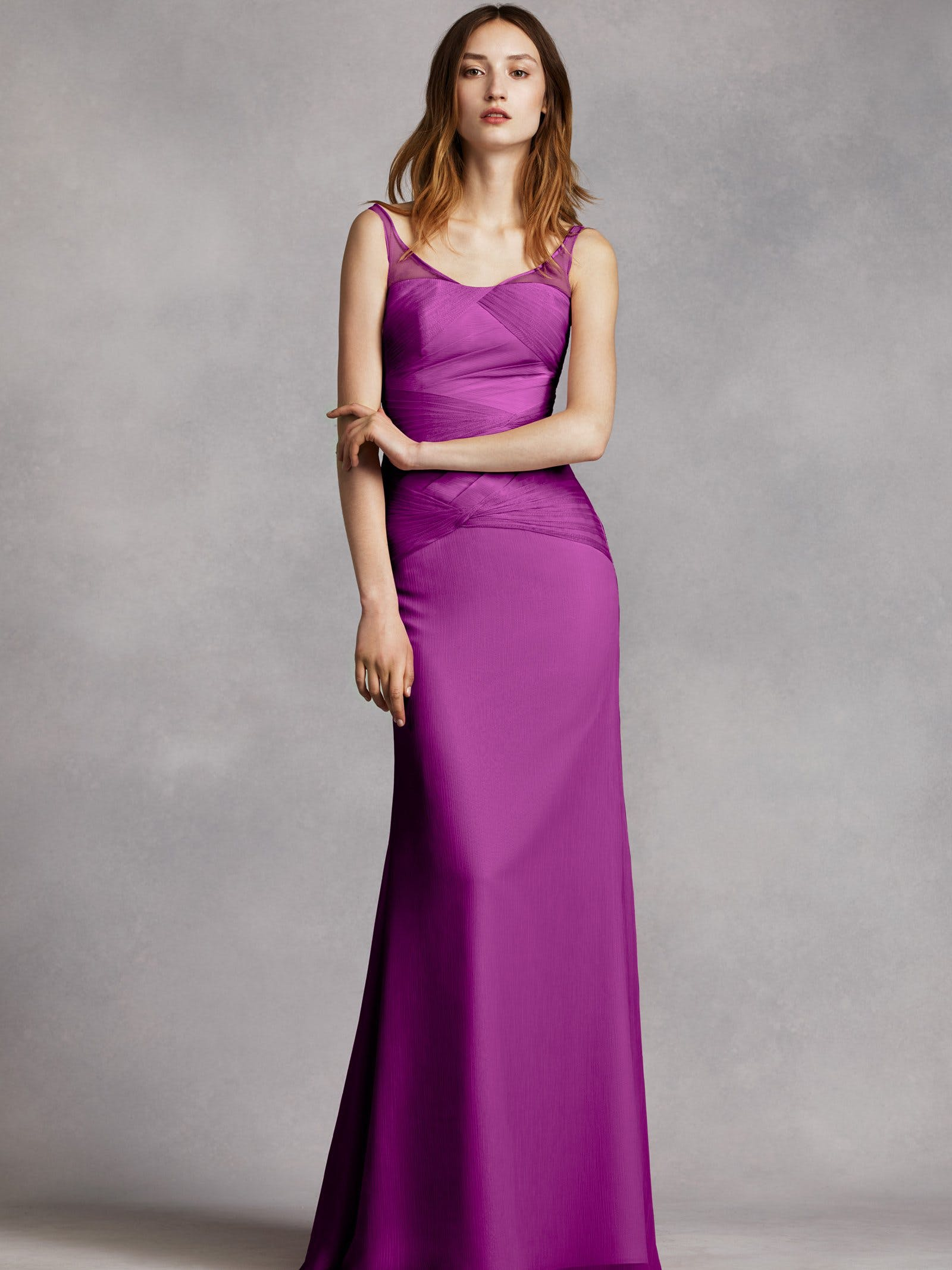 VW360214 bridesmaid dress   David s Bridal  2015 Vera Wang         David s Bridal 2015 Vera Wang VW360242