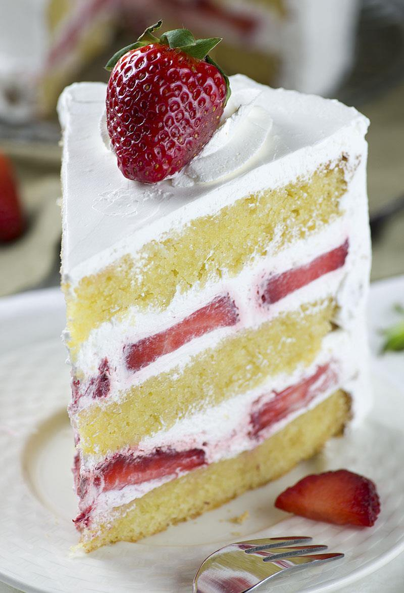 Strawberry Shortcake Cake Omg Chocolate Desserts