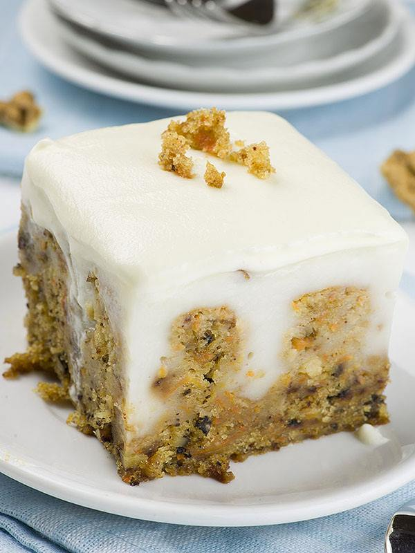 Carrot Cake Poke Cake Easy Easter Dessert Recipe With