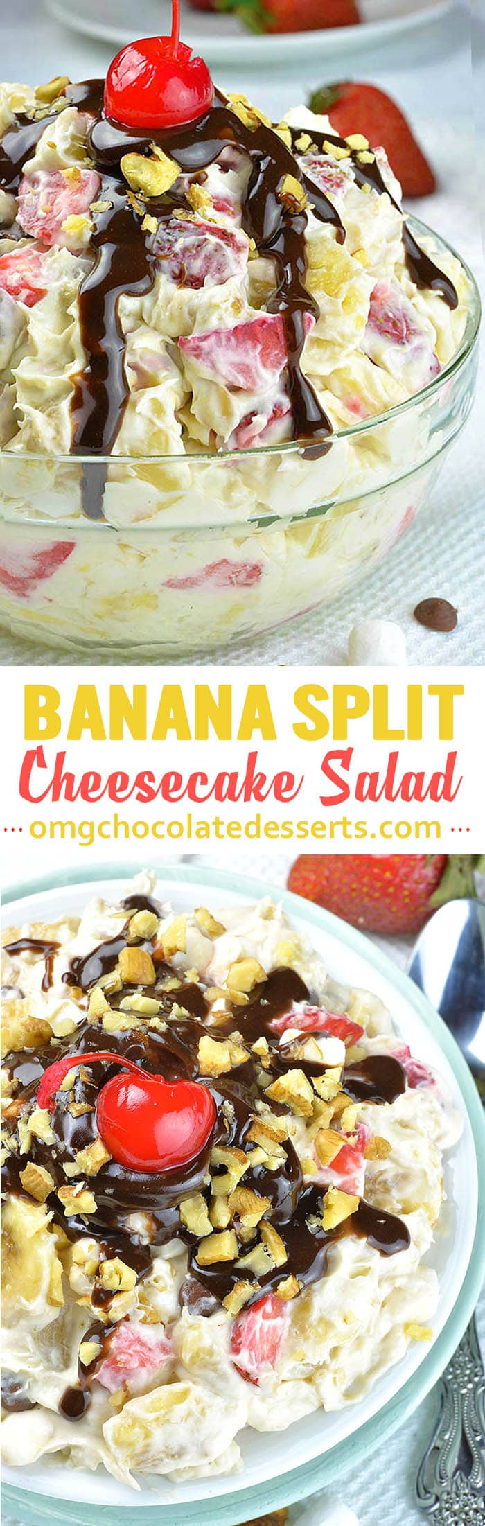 Easy Banana Split Dessert Recipe
