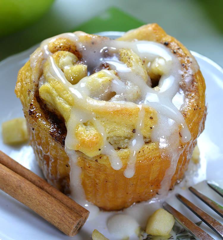 Apple Dumplings Crescent Rolls Recipe