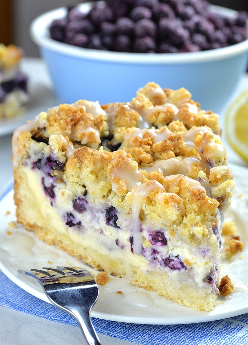 Blueberry Cheesecake Crumb Cake Omg Chocolate Desserts