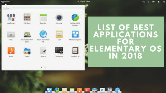 best applications for elementary os
