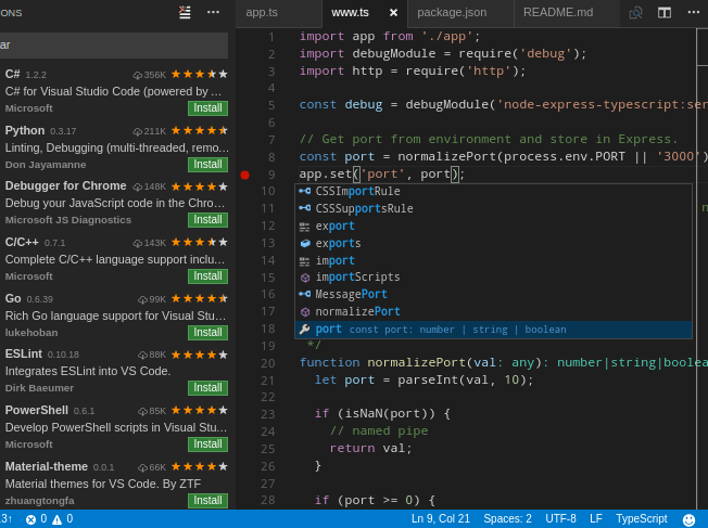 Install Visual Studio Code On CentOS 7 / RHEL 7/Fedora 30 / 29