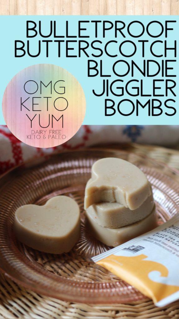 OMG KETO YUM Bulletproof Butterscotch Blondie Jigglers