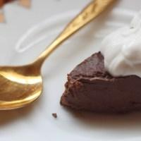 Chocolate Fudge Keto Pie