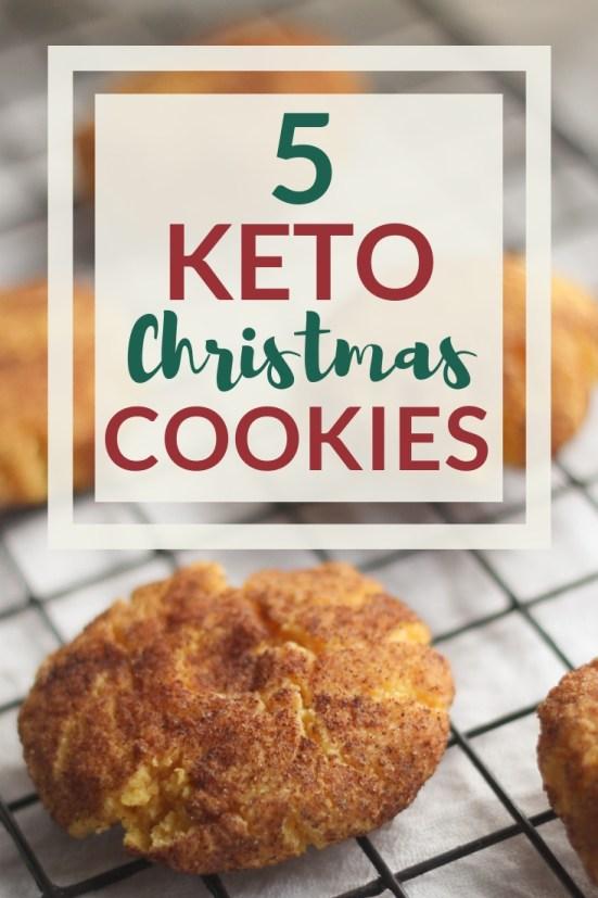 Keto Christmas Cookies 5 Dairy Free Keto Christmas Cookie Recipes