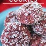 Keto Red Velvet Cookies