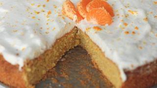 Orange Cardamom Olive Oil Cake