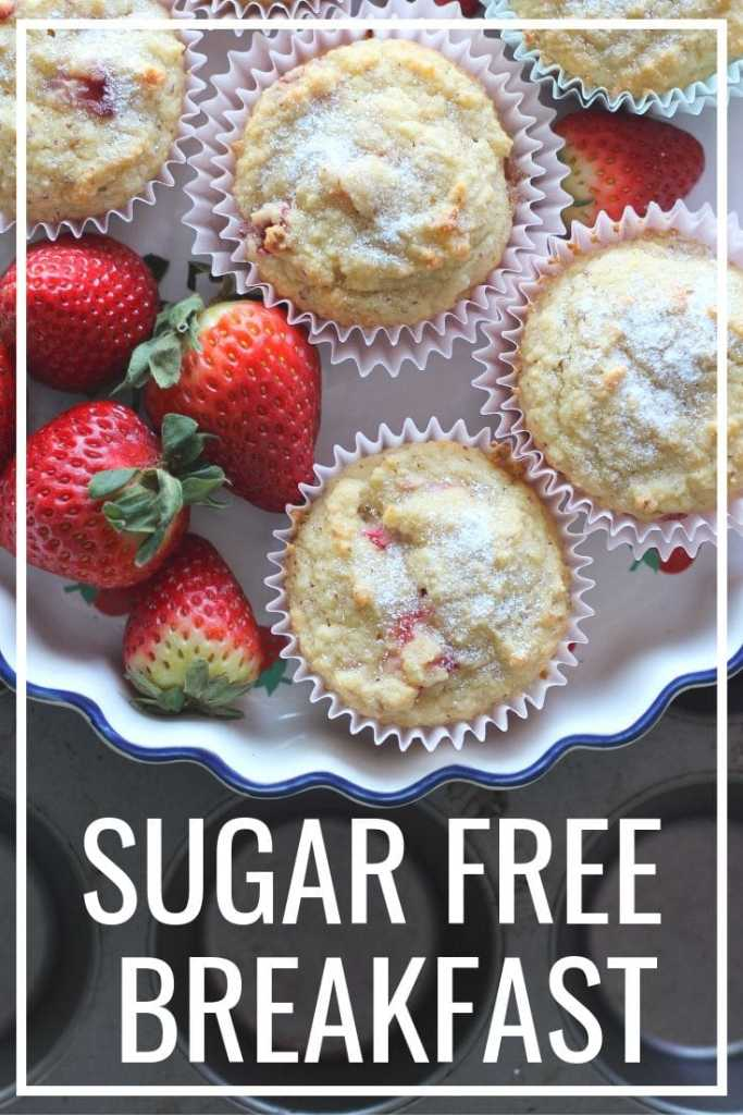 An easy Sugar Free Breakfast can come in many ways. Try an easy sugar free muffin tomorrow morning, you are gonna love them!